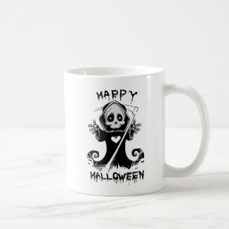Parca lindo Halloween Taza De Café