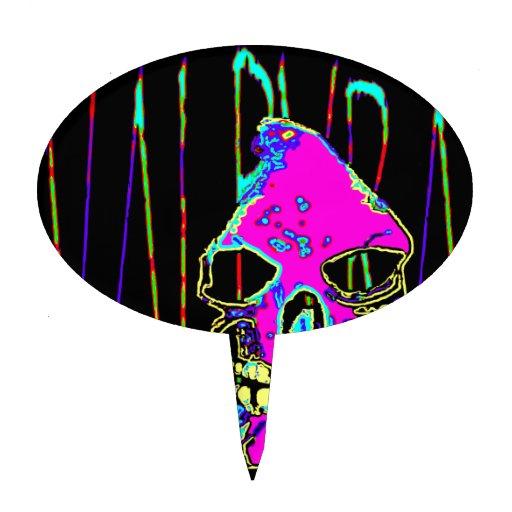 Parca sobre rosa de VALPYRA por Valpyra Decoración Para Tarta