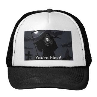 ¡parca, usted es siguiente! gorras de camionero