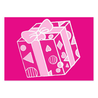 Parcel or Gift in Pinks for Her Business Card