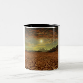 Parched Desert Two-Tone Coffee Mug