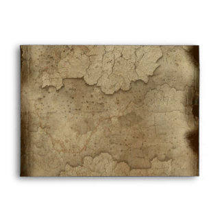 PARCHED EARTH Rustic Greeting Card Envelope
