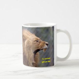 Parched lion! coffee mug