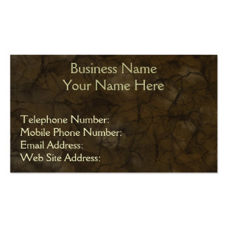 PARCHED TEXTURE Business & Profile Cards Business Card