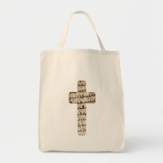 Parchemin de los écritures del sur de Croix Bolsa Tela Para La Compra