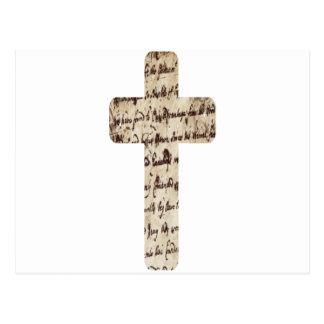 Parchemin de los écritures del sur de Croix Postales