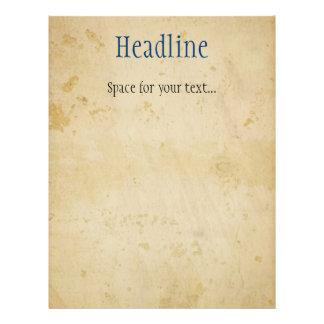 Parchment Flyer