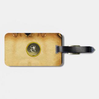 PARCHMENT GEM grey Luggage Tag