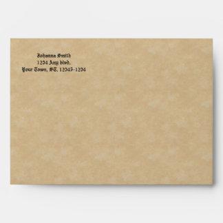 Parchment Look Vintage Envelope