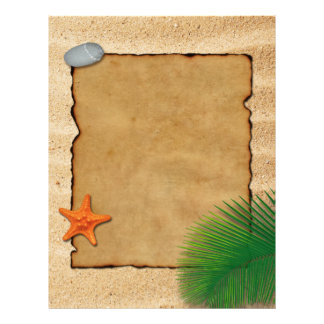 Parchment on Sand - Letterhead Stationery
