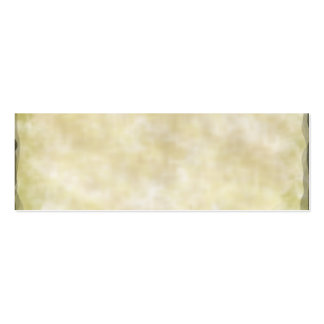 Parchment Paper Aged Double-Sided Mini Business Cards (Pack Of 20)