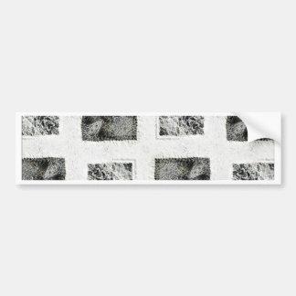 Parchment Pattern Bumper Sticker
