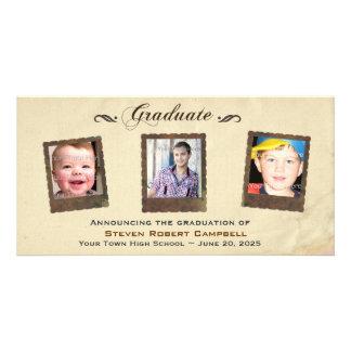 Parchment Snapshots, Graduation Picture Card