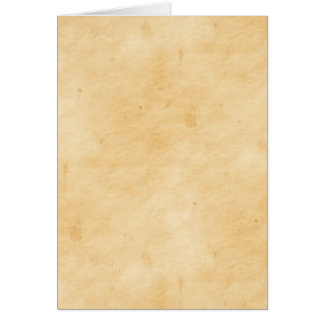 Parchment Stained Mottled Look Old Antique Card