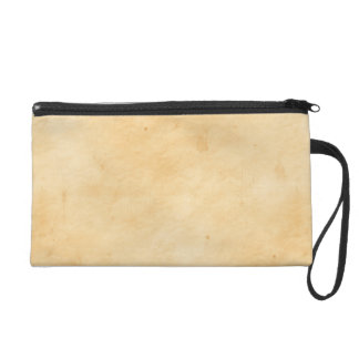 Parchment Stained Mottled Look Old Antique Wristlet
