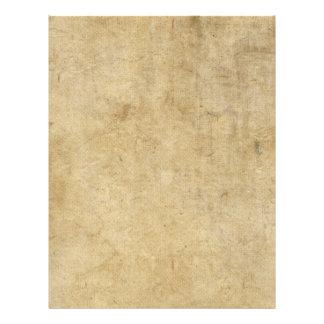 """Parchment Texture 8.5"""" X 11"""" Flyer"""