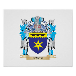 Pardi Coat of Arms - Family Crest Print