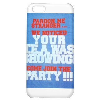 PARDON_ME-design iPhone 5C Case