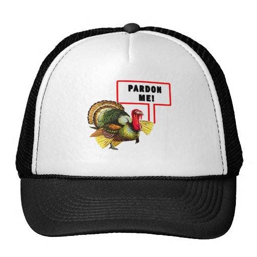 Pardon me diseño divertido del día de Turquía Gorro