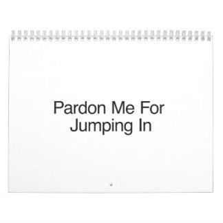 Pardon me para saltar In.ai Calendarios