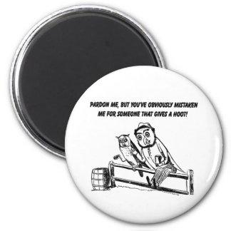 Pardon Me - Sarcastic Humor 2 Inch Round Magnet