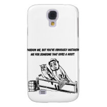 Pardon Me - Sarcastic Humor Samsung Galaxy S4 Case