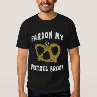 Pardon mi camiseta del negro de la respiración del remeras