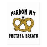 Pardon mi regalo de la respiración del pretzel