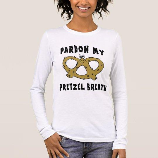 Pardon My Pretzel Breath T-Shirt