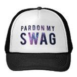 Pardon My Swag Snapback Mesh Hat