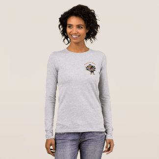 Pardon My Turkey Long Sleeve Women's T-Shirt