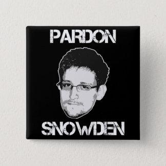 Pardon Snowden Button