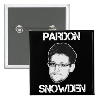 Pardon Snowden Button