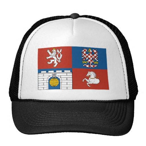 Pardubice Flag Trucker Hats