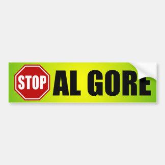 Pare a Al Gore Pegatina Para Auto