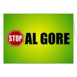 Pare a Al Gore Tarjeta De Felicitación