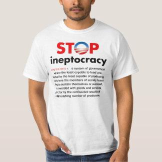 Pare a Ineptocracy de Obama Playera