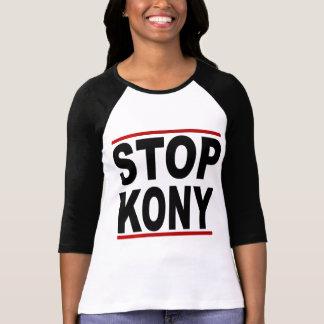 Pare a José Kony 2012, parada en nada, política Tee Shirt