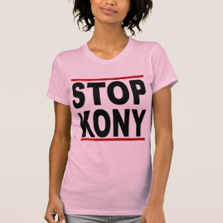 Pare a José Kony 2012, parada en nada, política T Shirt