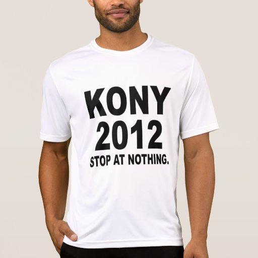 Pare a José Kony 2012, parada en nada, político Camisetas