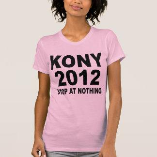 Pare a José Kony 2012, parada en nada, político T Shirt