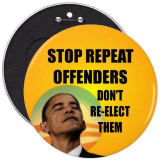 Pare a los delincuentes de la repetición - Barack  Pin