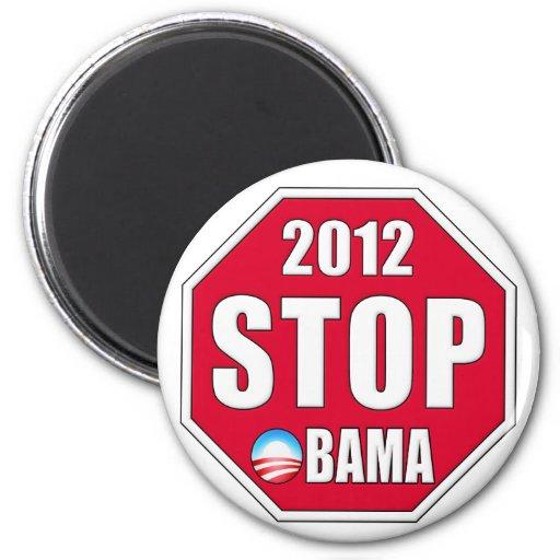 Pare a Obama 2012 Imán Redondo 5 Cm