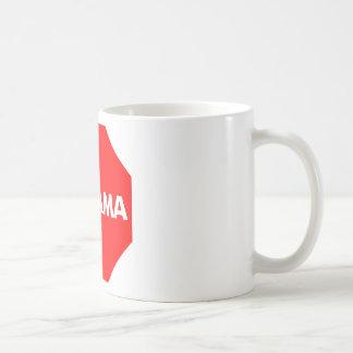PARE A OBAMA TAZAS DE CAFÉ