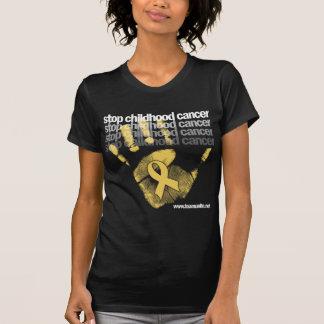 Pare al cáncer de la niñez camisetas