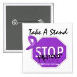 Pare al cáncer de Leiomyosarcoma toman un soporte Pin