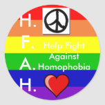 Pare al pegatina de la homofobia