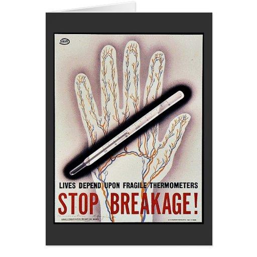 ¡Pare Brekage! Tarjeton