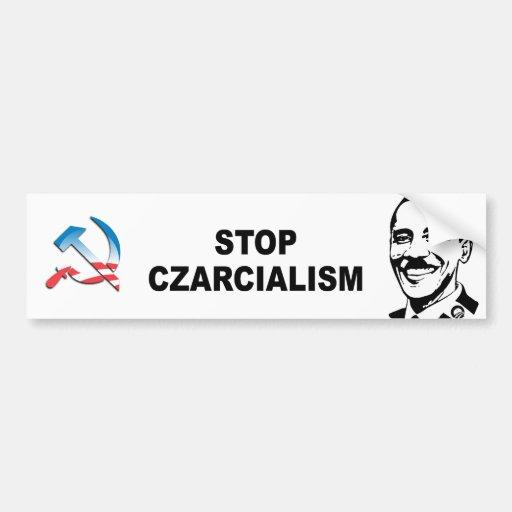 Pare Czarcialism Etiqueta De Parachoque