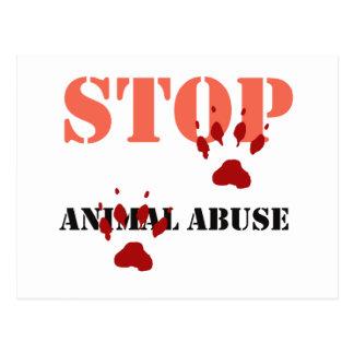 pare el abuso animal postal